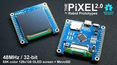 Pixel 2.0 - The Arduino compatible smart display! by Rabid Prototypes —Kickstarter