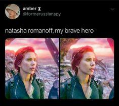 rest in peace beautiful angel ❤️🧡💛💚💙💜 Thanos Avengers, The Avengers, Avengers Memes, Black Widow Scarlett, Black Widow Natasha, Marvel Fan, Marvel Heroes, Natalia Romanova, Marvel Women