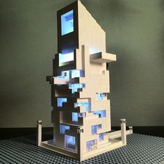 Lego Brutalist and Modernist Buildings by Arndt Schlaudraff | Faith is Torment | Art and Design Blog