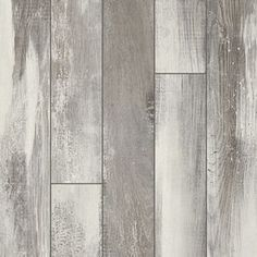 Shop Pergo Portfolio 5.23-in W x 3.93-ft L Iceland Oak Grey Embossed Wood Plank Laminate Flooring at Lowes.com