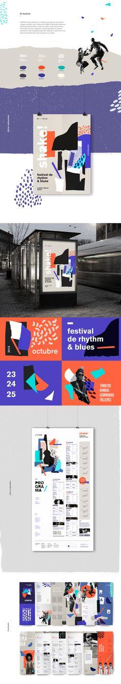 Desarrollo de identidad para festival internacional de Rhythm & Blues.Proyecto universitario.
