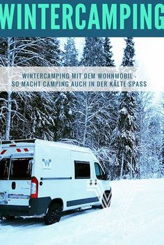 Wintercamping mit dem Wohnmobil – hier erfahrt Ihr, wie wir auch im härtesten W… Winter camping with a motorhome – here you can experience how we camp in the harshest winter with WHATABUS. Even in the cold season you can camp well T5 Camper, Vw T5, Caravan, Living On The Road, Tiny Living, Living Spaces, Winter Camping, Outdoor Life, Campervan