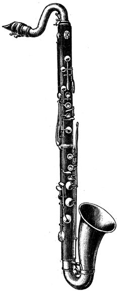 I played the Bass Clarinet in Band!