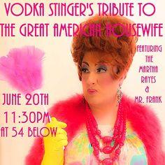 Vodka Stinger. June 20.