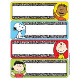 Peanuts® Composition Label Stickers - All Peanuts products by Eureka.