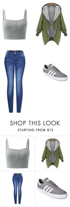 """school"" by ottoca on Polyvore featuring 2LUV and adidas"