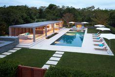 Modern Pergola and Pool | HGTV Ultimate Outdoor Awards >> http://www.hgtv.com/design/packages/hgtv-ultimate-outdoor-awards/2016/style---structure/modern-open-air-poolhouse?soc=pinterest