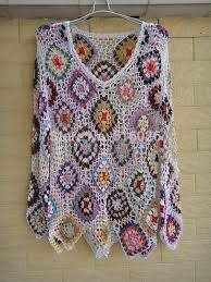 knitted poncho patterns for large women - Google Search