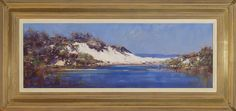 #14179 Ken Knight South Coast Dunes 55cm x 115cm