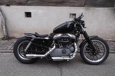 Harley-Davidson XL 1200 N Nightster Sportster Bobber als Motorrad in Bornheim
