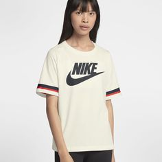 save off 52454 9d2a0 Nike Sportswear Women s Short-Sleeve Top