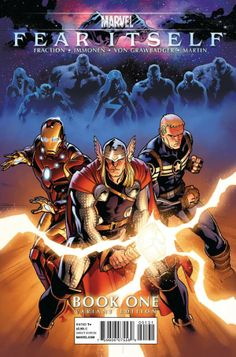 Fear Itself # 1 (Variant) by Stuart Immonen