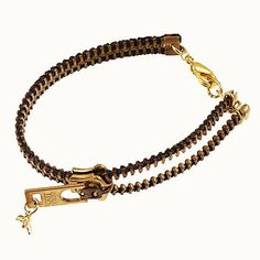 Zipper Bracelet - Black in raspberrysbox 's store on Consignd - $25.00
