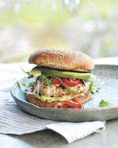 Mustard Turkey Burgers - Whole Living Eat Well - am trying these out tonight with grilled asapargus, should be yummy!