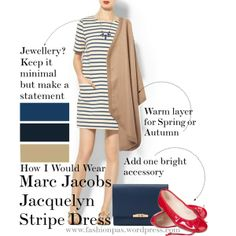 "How I would wear ""The Jacquelyn Dress"""