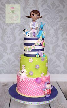 Doc Mcstuffin's Cake