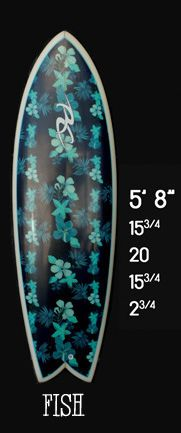 RC (Performance/Mid) Surfboards Fish