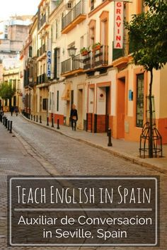 A look inside life as an auxiliar de conversacion in Seville, Spain. Read what it's like to spend your gap year teaching English in Spain.