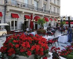 Opulent Pera Palace in Istambul. Take tea in the Tea Saloon or on the Orient Terrace.