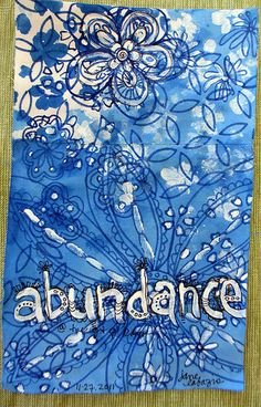 I am happy with my own abundance and looking forward to more .... there is always an endless flow of abundance ......