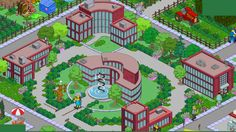 Monsarno complex Springfield Simpsons, Springfield Tapped Out, The Simpsons Game, Design Inspiration, Design Ideas, Taps, Layout, Random, Stickers
