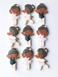 Ballerina Cookies, Cookie Decorating, Decorated Cookies, Cookie Monster, Desserts, Food, Girls, Tailgate Desserts, Toddler Girls