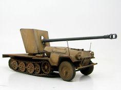 1/35 Zvezda Sd.Kfz.251 Ausf.B KwK42 75mm by Kamil Feliks Sztarbala