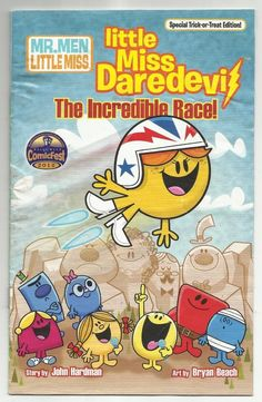 2012 Little Miss Daredevil The Incredible Race Comic Book Halloween Mr. Men Read
