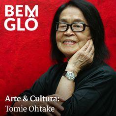 Hoje vamos falar sobre uma artista que deixou esse mundo: Tomie Ohtake, artista memorável que vai deixar saudade...  Vem com a gente conhecer um pedacinho da história dessa artista, vem! #bemglo #arteecultura #tomieohtake