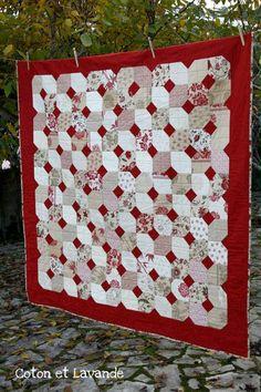 Coton et Lavande: En rojo y beige...