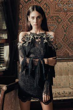 VILLALBA Siyah Elbise Raisa&Vanessa for Trendyol | Trendyol