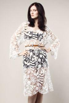 deadstock crochet dress