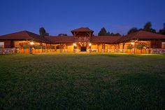This Waikii Ranch 9,000 sq. ft. European-designed horse barn is larger than the human residence