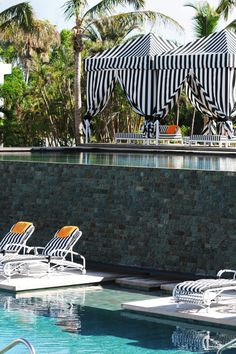 Spend an afternoon relaxing at Malliouhana's two pools. #Jetsetter Malliouhana An Auberge Resort (Meads Bay, Anguilla)