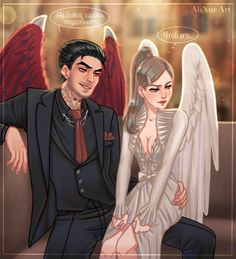 VK is the largest European social network with more than 100 million active users. Fan Fiction, Supernatural Drawings, Fantasy Couples, Tiger Beat, Romance Art, Tom Ellis, Couple Drawings, Angels And Demons, Teen Titans