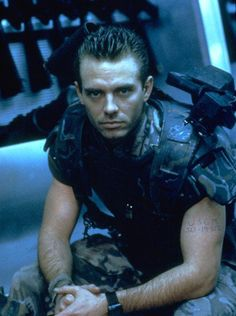 I am totally in love with 1980s Michael Biehn! Corporal Hicks from Aliens is one of my favorite sci-fi characters. Why they killed him off for Aliens 3 I will never understand.