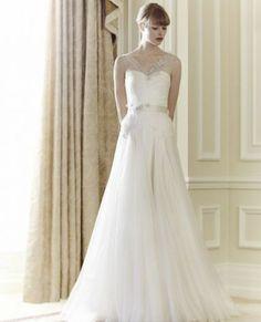 Románticos vestidos de novia de Jenny Packham 2014 [Fotos]
