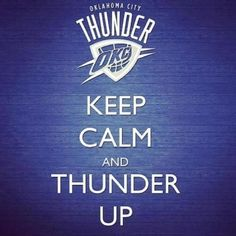 OKC! the only other keep calm I will ever post....