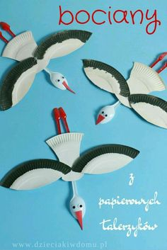 Leylek etkinlik & A paper plate whale craft for kids. #kidscraft #preschool #whale ...
