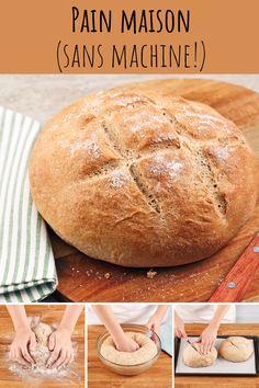 Découvrez tous nos trucs pour faire le meilleur pain maison! Brunch, Sorbets, Hamburger, Muffins, Bread, Food, Kitchens, How To Make Bread, Kitchenaid Stand Mixer