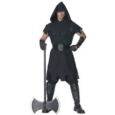 Men's Executioner Costume, Size: XXL