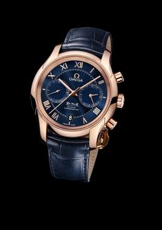 OMEGA De Ville Chronograph, Omega Timepieces and Luxury Watches on Presentwatch