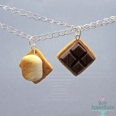 Everything's sweeter with you in my life. | 19 Insanely Cute Snack-Themed Necklaces For True BFFs