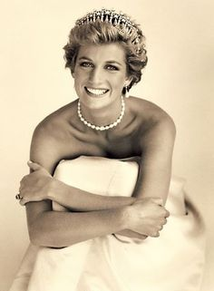 The lovely Princess Diana- in honor of her son's wedding this week. I wish she could be here for it!