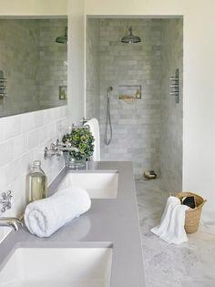 99 New Trends Bathroom Tile Design Inspiration 2017 (25)