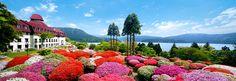 芦ノ湖の絶景に癒やされるリゾートホテル