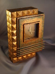 A New Art Deco Clock | Collectors Weekly Classic Clocks, Deco Interiors, Clock Art, Art Deco Period, Radios, New Art, Art Nouveau, Candle Holders, Watches