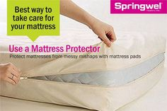 #SpringwelTip: How to safely #clean #stains on your #mattress?  #1. Use a #citruscleanser or diluted #dish detergent #2. Let #cleanser sit for about 5-10 minutes #3. Keep blotting the mattress to remove excess liquid.
