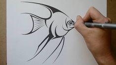 Angel Fish Tattoo Designs photo - 3