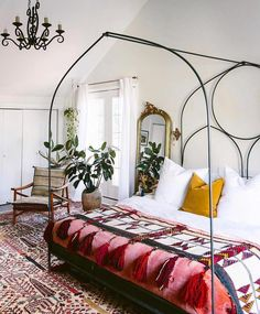 32 Gorgeous Modern Bohemian Bedroom Decor Ideas A new kitchen area renovation can vastly Enhance the value of your house, […] Decoration Inspiration, Decoration Design, Decor Ideas, Bedroom Inspiration, Decorating Ideas, Boho Ideas, Bohemian Decorating, Mirror Inspiration, Decorating Bedrooms